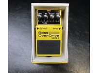 Boss bass overdrive ODB-3 pedal