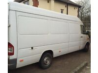 BUDGET VAN HIRE FROM £15 P/HR WITH DRIVER 7 DAYS FOR SELF LOADING UNLOADING MOVES