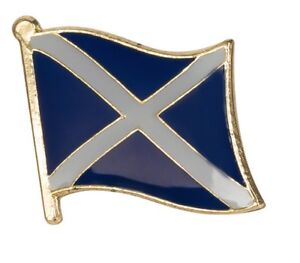 Scotland Flag Scottish Pin Lapel Badge Saltire High Quality Gloss Enamel