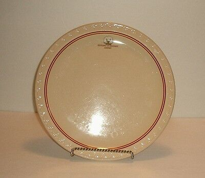 Syracuse China Southland Life Insurance Company Dinner Plate