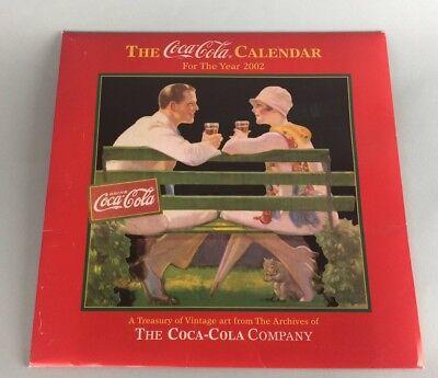 COCA-COLA 2002 CALENDAR NEW