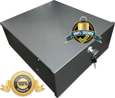 Dvr Security Lock Box (DVR HOUSING ENCLOSURE METAL LOCKABLE BOX FOR RECORDER LOCK BOX SECURITY CASE)