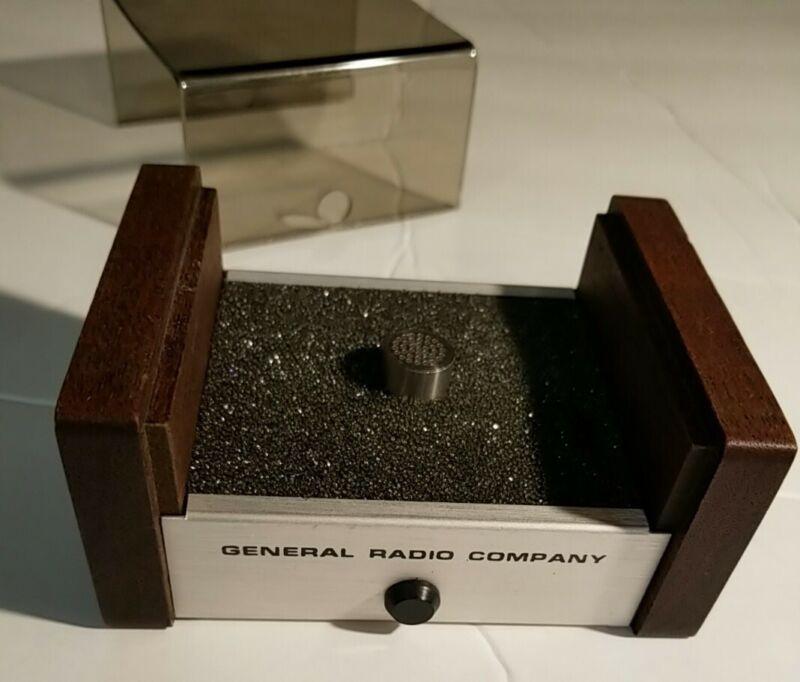 GR General Radio Co. Measuring Condenser Microphone 1962-9610 Used / Works