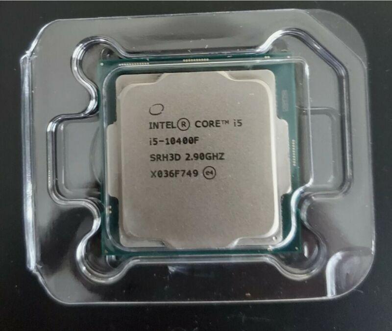 Intel Core i5-10400F Processor (4.3 GHz, 6 Cores, LGA1200)