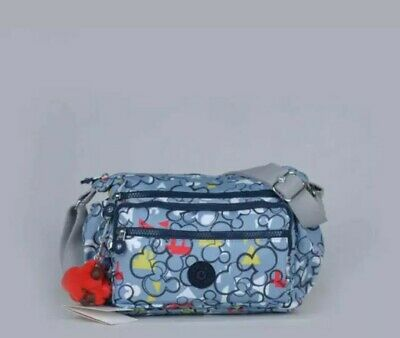 BNWT Kipling Disney Mickey  Messenger Bag  limited edition 2020 design & monkey