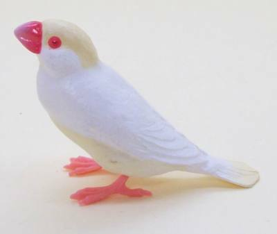 Shine-G sparrow figure collection cream white Java sparrow finch US seller new