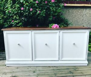 Rustic and Chic Sideboard