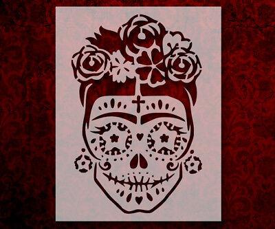 Day Of The Dead Dia De Muertos Sugar Skull  8.5