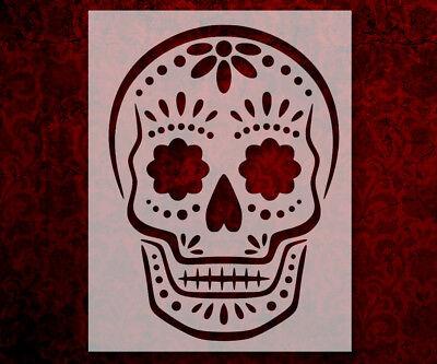 Sugar Skull Day Of The Dead Dia De Muertos 8.5