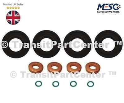 FUEL INJECTOR SEAL + WASHER + ORING SET CITROEN RELAY PEUGEOT BOXER 2.2 2006 ON