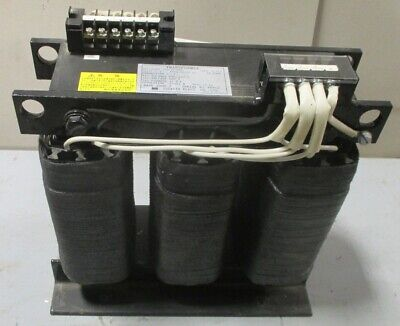 Tsuruta Tb-6kr Transformer Jec-2200 6 Kva 3 Ph 230220 - 200 Volts 17.3 Amp