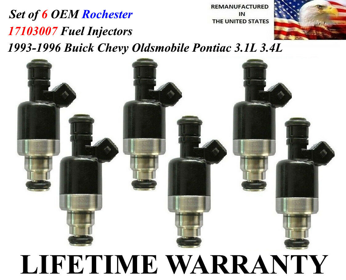 Used Pontiac Fuel Injectors for Sale