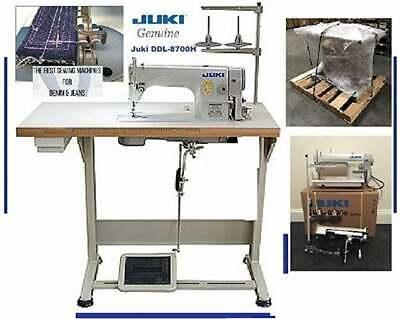 Juki Ddl-8700-h Industrial Straight Stitch Sewing Machine K.d Table Servo Mot