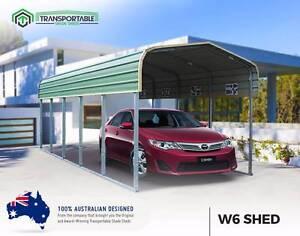 3x6 Movable Carport Garage Car Cover Caravan Shade Boat Shed Landsborough Caloundra Area Preview