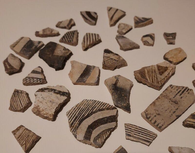 Premium Arizona Anasazi Pottery Shards, Indian Artifacts, Jewelry Craft,  #P312