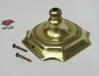 Vintage BRASS Ceiling / Chandelier Hook / Rose (FIXING SCREWS INCLUDED)