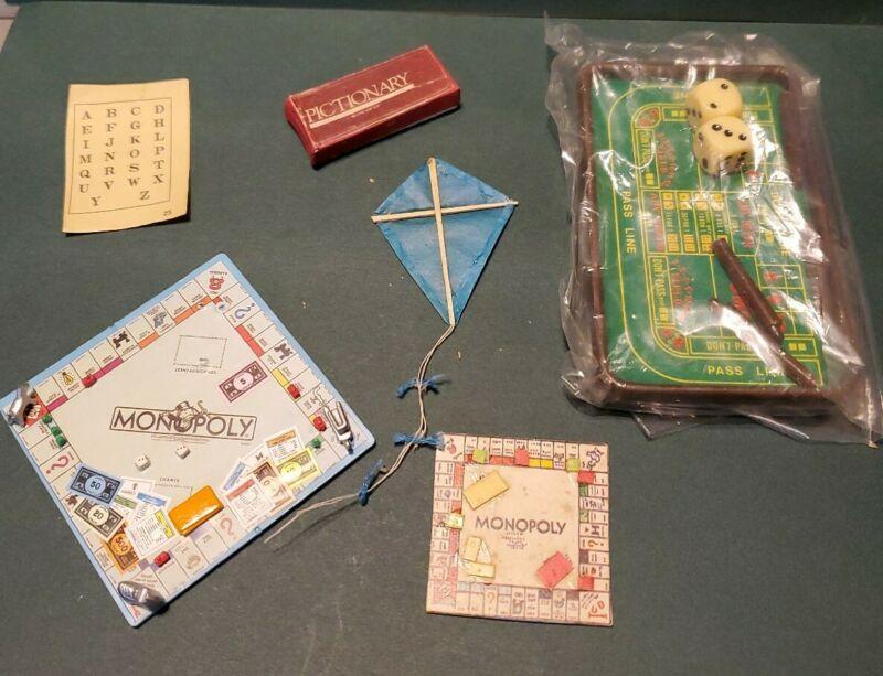 Dolls House Miniature  Games