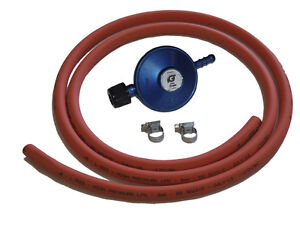 Camping Gas GAZ Butane Regulator Hose and Clips Kit for 901 904 907 bottles