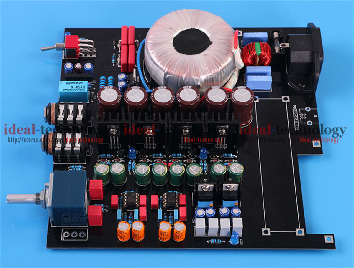 HIFI A2 Headphone Amplifier Board DIY Kit Reference Beyerdyn