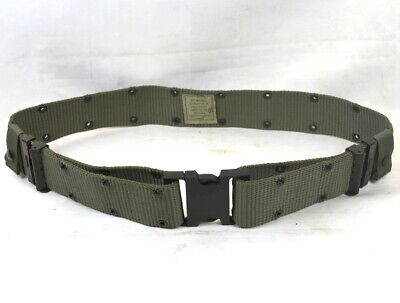 Medium Coyote Brown Military Quick Release Pistol Web Belt Rothco 9133