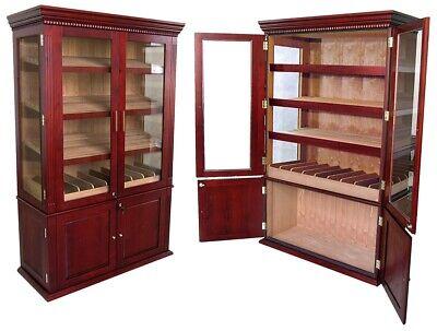 Commercial Cigar Humidors (Saint Regis Gigantic Capacity Cigar Cabinet Humidor Commercial)