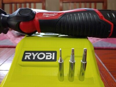 3 New Aftermarket Soldering Iron Tips That Fit Milwaukee M12 2488-20 Ryobi