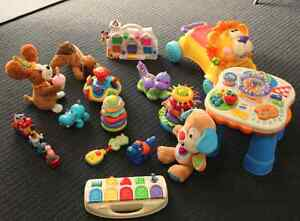 Baby toys Bundle! Fisher price, Vtech, playskool Kings Langley Blacktown Area Preview