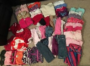 6-12 month girl clothing lot