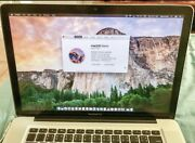 "Apple Macbook Pro 15"" Turrella Rockdale Area Preview"