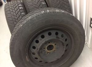 Goodyear Ultragrip Winter Tires 215/65/16 with rims