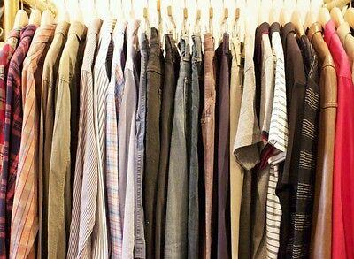 25 PC Men's Wholesale Clothing Lot Assorted Resale