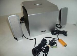 Dell Speakers and Subwoofer Maidstone Maribyrnong Area Preview