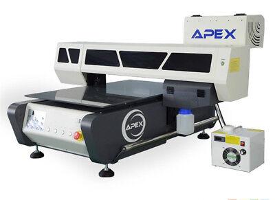 UV STAMPANTE uv6090 AUTOMATICO FLATBED DIGITALE STAMPANTE 60x90cm Alta Velocità usato  Spedire a Italy