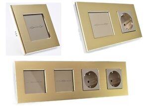 aluminium lichtschalter steckdose wechselschalter kreuz. Black Bedroom Furniture Sets. Home Design Ideas