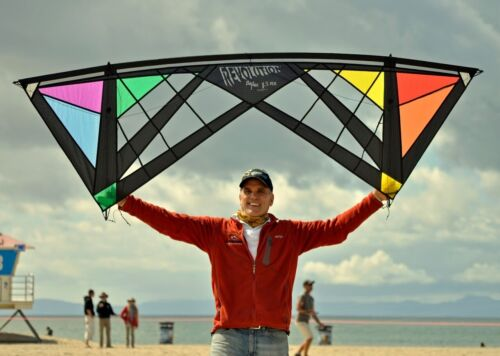 Revolution 1.5 RX SPIDER - Surf City Special Edition Black Rainbow - Kite Only