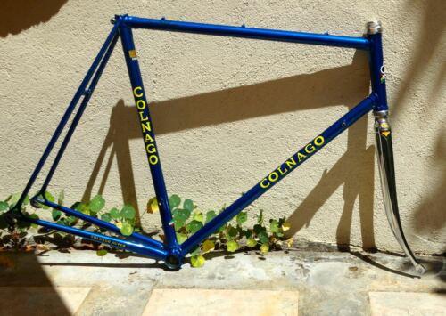 58.5cm Colnago Super - Vintage steel frame-set - Refinished + Extras