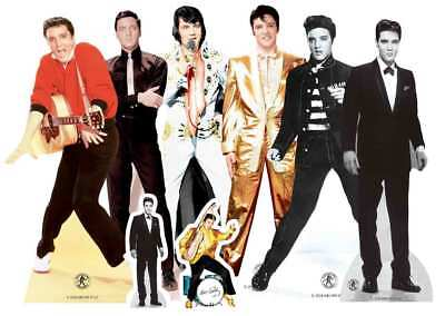 Elvis Table Top Cardboard Cutouts Official Party Pack King of Rock and Roll](Elvis Party Supplies)