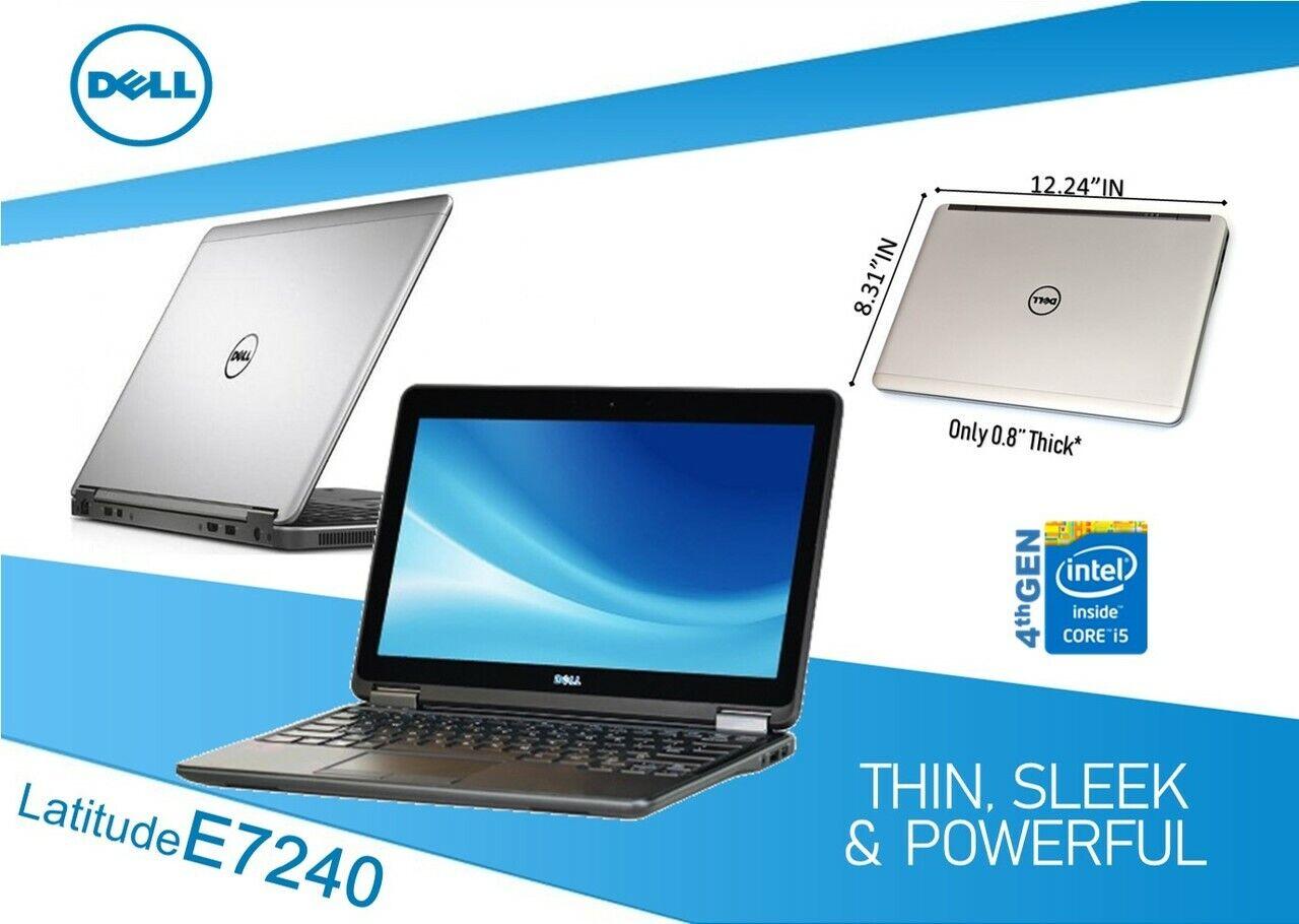 Eizigartig UltraBook Dell e7240 Core  i5 max. 2,9 GHz 4GB 120GB SSD  Grade B