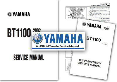 Yamaha BT1100 Bulldog Workshop Service Manual BT 1100 2002 onwards