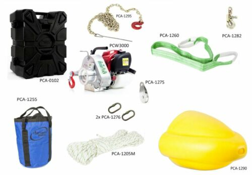 Portable Winch PCW3000-FK Forestry Assortment Kit