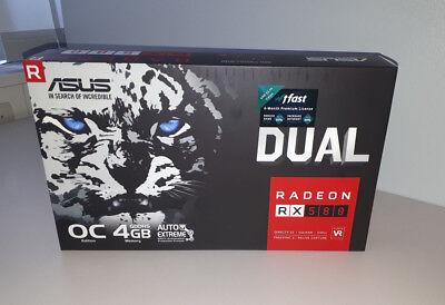 Asus DUAL Radeon RX 580 OC - 4GB **NEU**