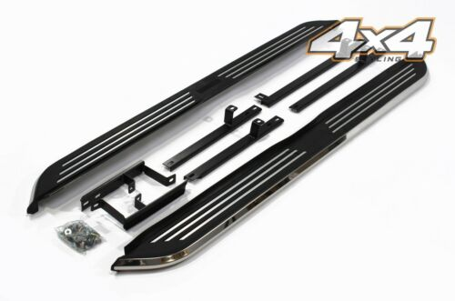 For Nissan X-Trail 2014+ Side Steps Running Boards Set - Type 2
