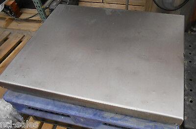32 X 40 Toledo Scale Corp. Floor Pit Pallet Scale Model Kc300s 49