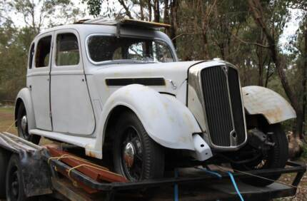 RARE 1937 ROVER 16 unfinished project