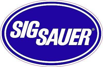 Sig Sauer Gun Logo Vinyl Sticker Decal,  **FREE SHIPPING**