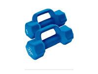 Davina exercise dumbbell set.