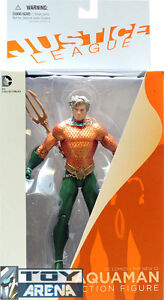 The New 52 Justice League Aquaman DC Collectibles Comic Action Figure Aqua Man