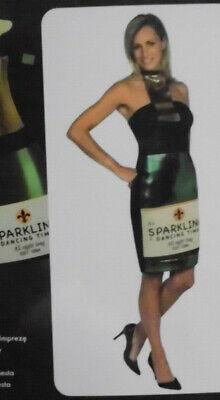 Kostüm Damen sexy fasching Karneval Flasche Sekt Kleid - Piccolo Kostüme