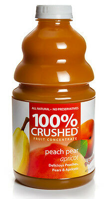 Dr. Smoothie 100% Crushed Peach Pear Apricot Smoothie Concentrate (46oz (Fruit Smoothie Concentrate)