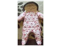 TED BAKER Baby girl SNOWSUIT 6-9 month